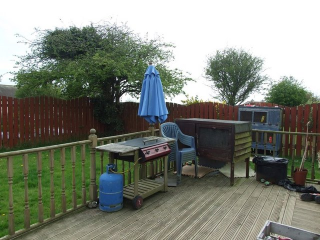 The Barbeque in the garden