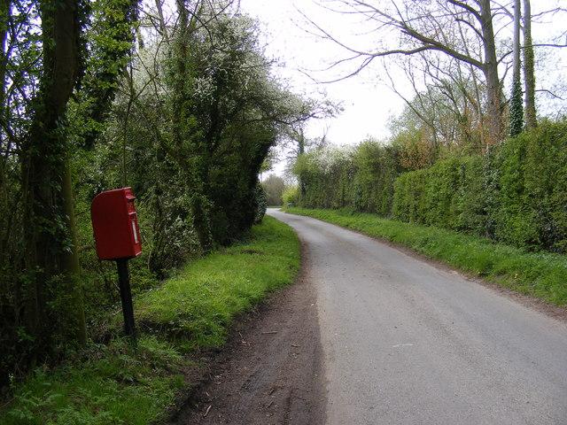 Severalls Lane, Maypole Green & Severalls Lane Postbox