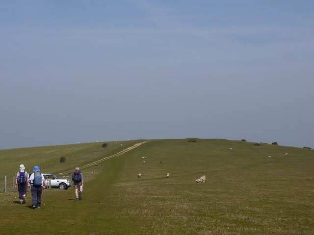 Going west on the South Downs Way