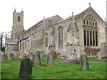 TF5315 : St John's church, Terrington St John by Evelyn Simak