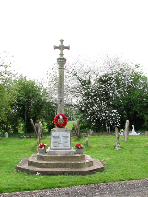 St John's church - the war memorial