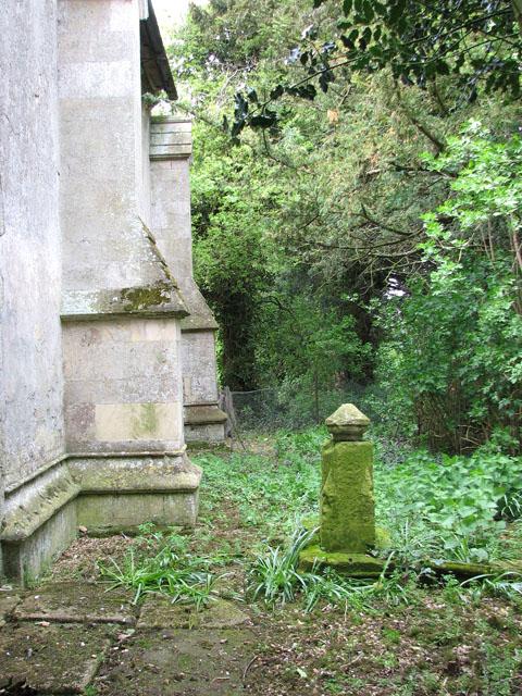 St John's church, Terrington St John - stone cross (remains)