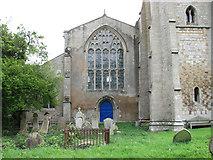TF5315 : St John's church, Terrington St John - north chapel by Evelyn Simak