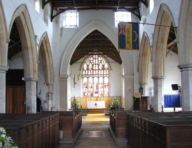 St John's church - view east