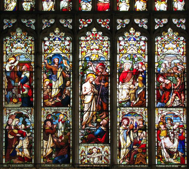St John's church - east window (detail)