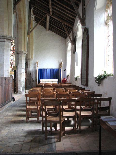 St John's church - south aisle