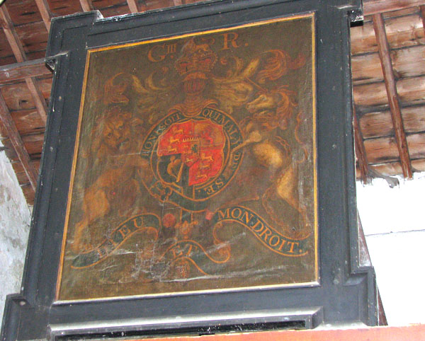 St John's church - George III royal arms