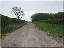SE8947 : Kipling Cotes Race Course by Glyn Drury
