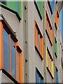 TQ3280 : Fenestration, Bankside Central by Patrick Mackie