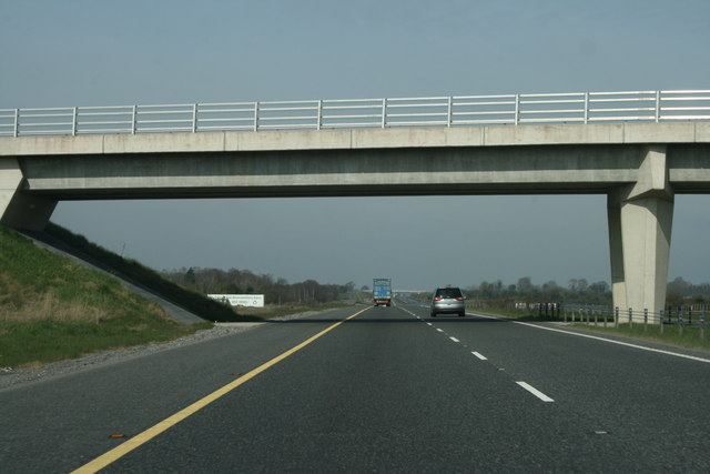 The M4 in County Meath