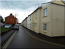 ST0107 : West end of New Street, Cullompton by David Gearing