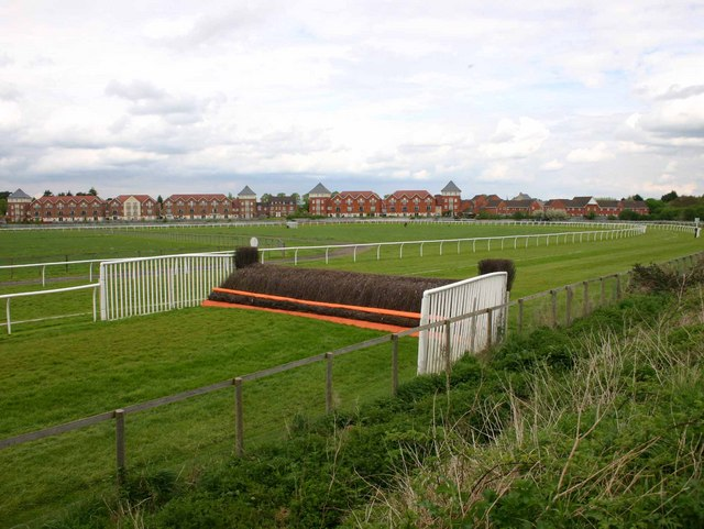 Jump at Stratford Racecourse