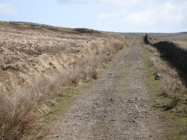 Track below Grey Hill