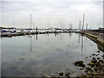 SZ3394 : Lymington Harbour, Hampshire by Christine Matthews