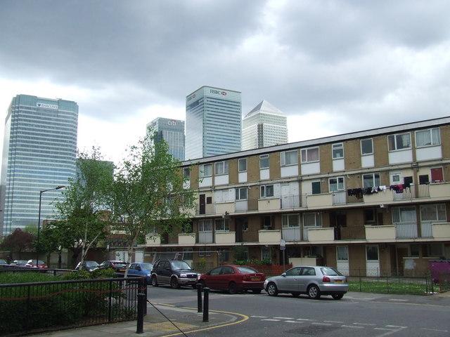 Flats in Newby Street