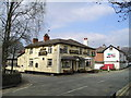 SJ6543 : The Bridge inn Pub, Audlem by canalandriversidepubs co uk