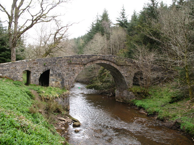 Stone Bridge, River North Esk