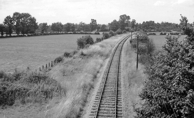 Site of Blunsdon Station