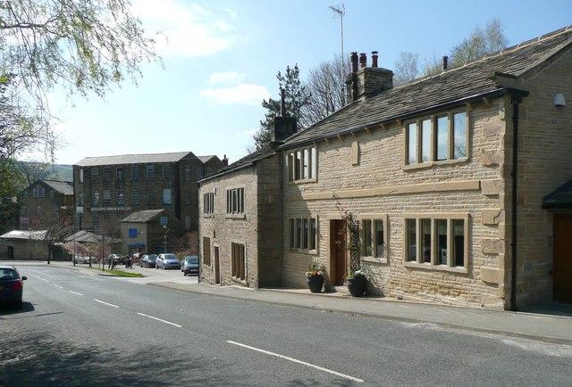 Old houses, Midgley Road, Mytholmroyd