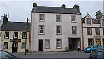 NX4355 : Houses in the town centre, Wigtown by Anthony O'Neil