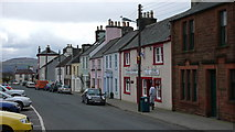 NX4355 : Houses in the market square, Wigtown by Anthony O'Neil