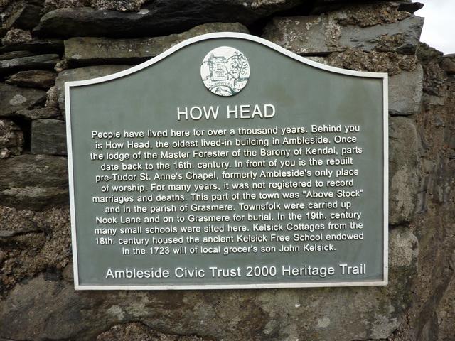 Plaque, How head