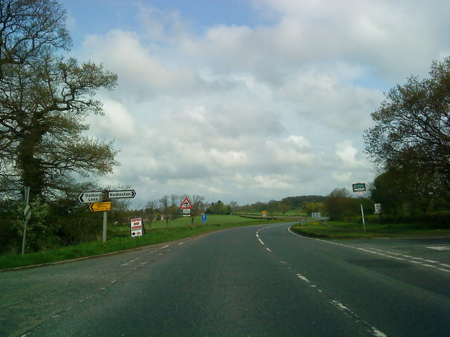 Junction on the Ashbourne Road