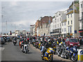 TQ8209 : May Day Run 2010, Right Hand Driving by Oast House Archive