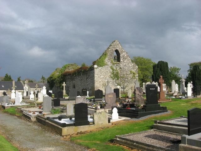 Church and graveyard at Ardcath, Co. Meath