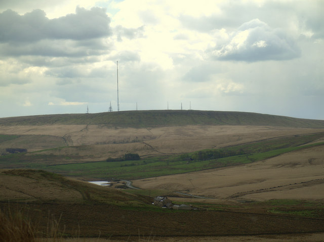 Winter Hill from Turn Lowe