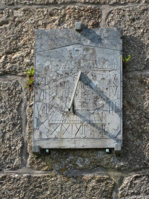 Sundial, Zennor Church
