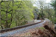 SH5946 : Welsh Highland Railway, Nantmor, Gwynedd by Peter Trimming
