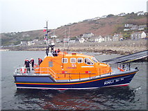 SW3526 : Returning the lifeboat to the station by Rod Allday