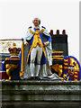 SY6779 : King George III, Weymouth by Brian Robert Marshall
