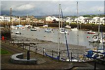 SH5638 : Porthmadog Harbour, Gwynedd by Peter Trimming