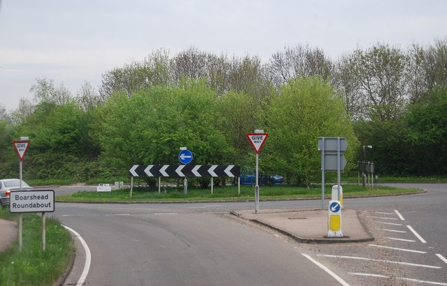 Boarshead Roundabout