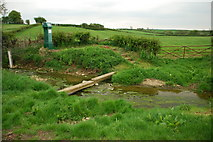 SK9221 : Ford off Bull Lane on the River Witham, North Witham by John Walton