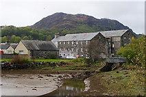 SH5738 : Llyn Bach, Porthmadog, Gwynedd by Peter Trimming