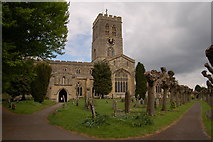 SP7006 : St Mary's church, Thame by Roger Davies