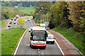 J2358 : The Dublin express near Hillsborough by Albert Bridge