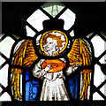 TG1901 : The church of St Mary Magdalen - C15 stained glass by Evelyn Simak