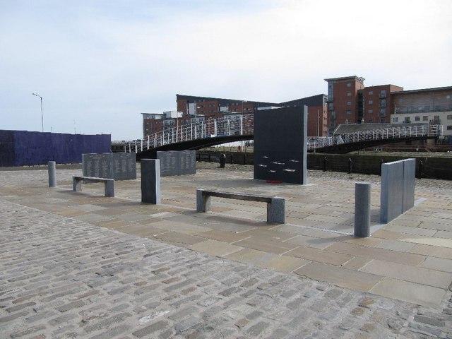 Memorial on the Dockside