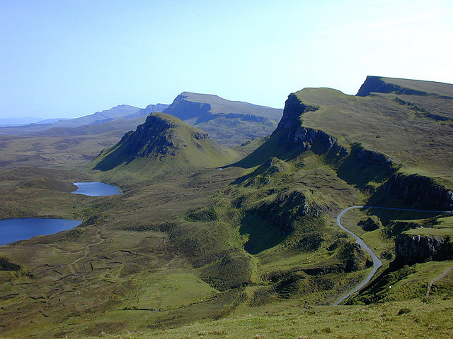 Landscape south of the Quiraing