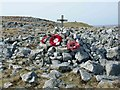 SO0813 : Memorial at Wellington Bomber T2520 crash site by Nigel Davies