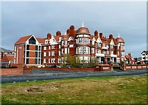 SD3228 : Grand Hotel, St Anne's by Gerald England