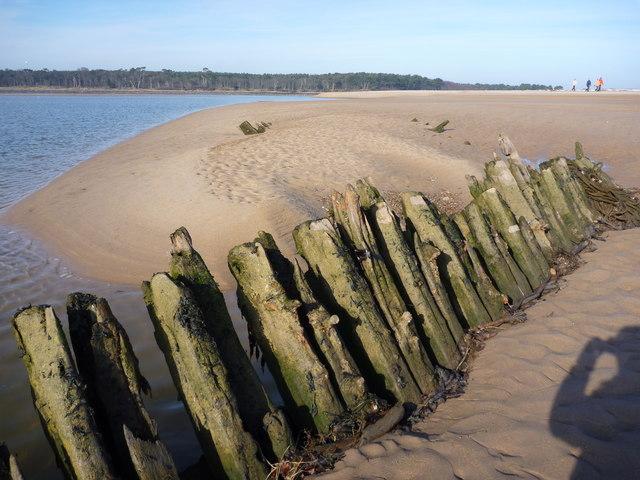 Shipwrecks on the Tyne Sands, East Lothian