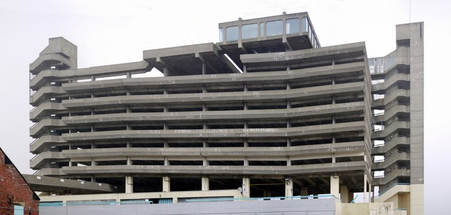 Trinity Square Car Park from the south