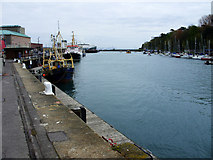 SY6878 : The outer harbour, Weymouth by Brian Robert Marshall