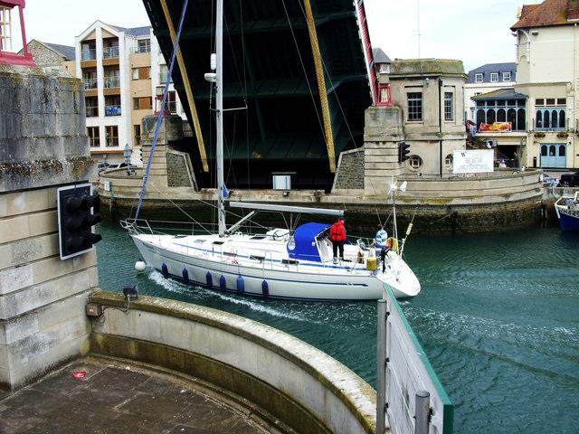 The Town Bridge, Weymouth