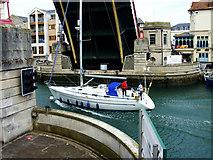 SY6778 : The Town Bridge, Weymouth by Brian Robert Marshall